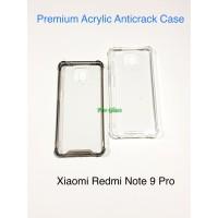 Xiaomi Redmi Note 9 PRO Anticrack / Anti Crack / ACRYLIC Case Silicone