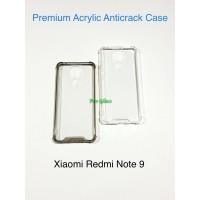 Xiaomi Redmi Note 9 Anticrack Anti Crack ACRYLIC Case Premium Quality