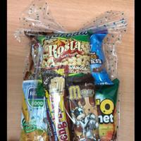 Paket snack ulang tahun/jajanan ultah anak/souvenir