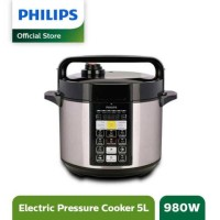 Philips Viva Col ME Electric Pressure Cooker HD2136/65 - Hitam