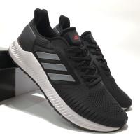 Sepatu Sneakers Adidas Solar Blaze Black Grey Premium