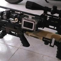sideshot mounting kamera samping GoPro Hero 5/6/7 black +lensa upgrade