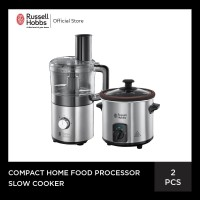 Bundling Russell Hobbs Home Slow Cooker - Compact Food Processor