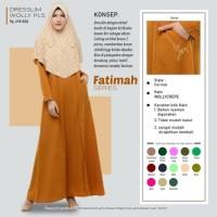 Rabbani Dresslim Wolly PLS Original Baju Gamis Wanita