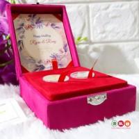 Kotak Mahar Dinar / Box Dinar dan Dirham /Tempat Koin Dinar Emas Antam