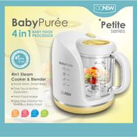 OONEW BabyPurée Petite Series Baby Food Processor Yellow