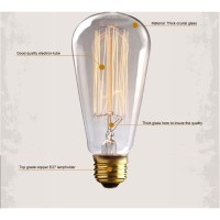 Good Quality Lampu Bohlam Design Vintage 60W Warm White