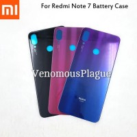 BackDoor Back Cover Case Glass Xiaomi Redmi NOTE 7 KACA