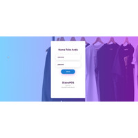 Aplikasi POS dan Inventory Penjualan Baju berbasis Web Source Code ORI