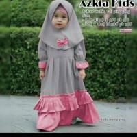 Gamis Anak Perempuan Baju Muslim Anak Azkia Kids 2-3 Tahun