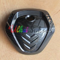 Variasi Aksesoris Cover Tutup Stang Yamaha New Nmax 2020 Black Carbon