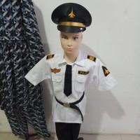 seragam pilot anak TK - 2-3 tahun