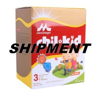 SHIPMENT Chilkid 3 HONEY 1600 g - Chil Kid Reguler MADU Morinaga 4X400