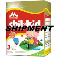 SHIPMENT Chilkid 3 VANILLA 1600 g - Chil Kid Reguler VANILLA Morinaga