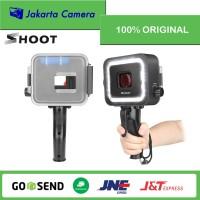 SHOOT Waterproof Case Diving LED Light 40M For GoPro Hero 5 6 7 Black