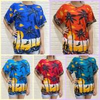 Baju Bali Motif Pantai Gables Unisex