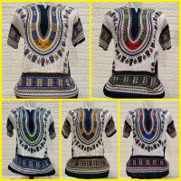 Baju Bali Motif Batik Uje Bangkok Unisex