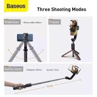 Tongsis selfie stick tripod Baseus folding stand selfie stabilizer