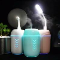 Aroma Terapi 3 in 1 USB Can Shape Difusser Humidifier RGB LED