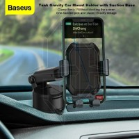 BASEUS Tank Gravity Car Mount Phone Holder Telescopic Dudukan HP Mobil