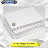 Art Paper 100gram A4 isi 50 Lembar Kertas Majalah Brosur