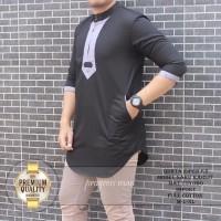 Koko Qurta Zipper K2 baju pria minimalis, koko TERLARIS
