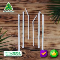 PLA Straw- Sedotan Ramah Lingkungan -eco friendly Straw - compostable