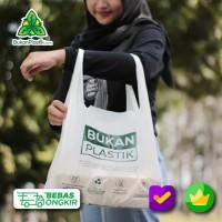 Cassava Bag (L) - Kantong Organik - Plastik ramah lingkungan