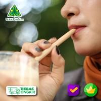 Sedotan Ramah Lingkungan dari Bambu - bambu straw