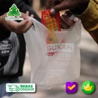 Kantong ramah lingkungan - Cassava Bag - Plastik Putih bening