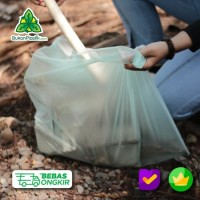 Trash bag 20Lt- Plastik sampah Ramah Lingkungan - cassava bag