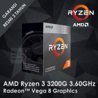 AMD Ryzen 3 3200G 4-Core 3.60GHz Radeon Vega 8 Graphics (Socket AM4)