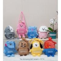 Tas Selempang Bts Size S/Sling Bag BT21/Selempang kaki tangan Karakter