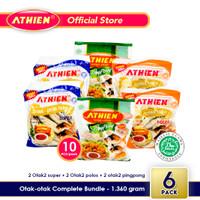 Athien - DOUBLE BUNDLE Otak-Otak Goreng KOMPLIT / 1.360 gram