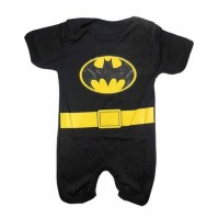 New Baju Bayi Laki Laki Lucu Keren Romper Batman terlaris