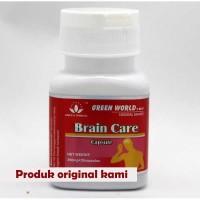 BRAIN CARE CAPSULE GREEN WORLD ORIGINAL 100%/OBAT STROKE
