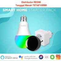 BARDI Starter Pack - Bundle Promo BULB, IR REMOTE DAN SMART PLUG