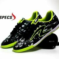 Baru Sepatu Futsal Pria Specs Barricada Ultima Hitam Hijau Trendy