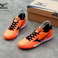 Trendy Sepatu Futsal Pria Mizuno Fortuna Orange List Hitam Trendy