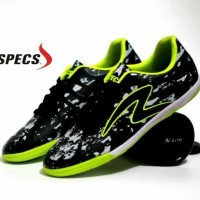 New Sepatu Futsal Pria Specs Barricada Ultima Hitam Hijau Exclusive