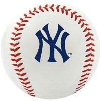TAM_ Rawlings Official MLB Team Logo Baseball Bola Ball Yankees