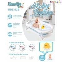 Kandila Baby Folding Baby Bathtub Bath Tub Bak Mandi Bayi Lipat KDL002