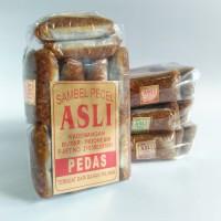 Jual Sambel Pecel Asli Bumbu Kacang Pedas Kemasan 400gr - ASLI BLITAR