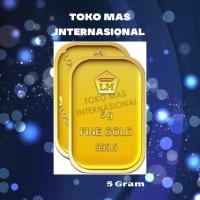 Logam Mulia LM 5gr 5g 5gram 5 gram Batangan Emas ANTAM Sertifikat