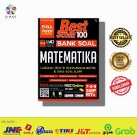 Buku Best Score 100 Bank Soal Matematika Latihan Soal SMP Kelas 7/8/9