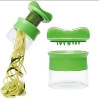 vegetable spiralizer, grater spiral, serutan zucchini, pasta maker