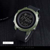 Jam Tangan Pria Smartwatch SKMEI 1572 ArmyGreen waterresist 30m