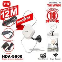 ANTENA TV DIGITAL LUAR DALAM INDOOR OUTDOOR PX HDA 5600