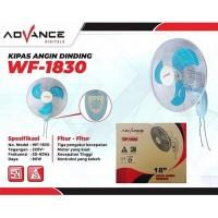 Wall fan Advance 18'' WF-1830 (Biru) Baling'' Besi