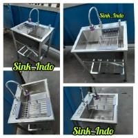 Bak Cuci Piring Portable Westafel kitchen Sink cuci piring stainless 6